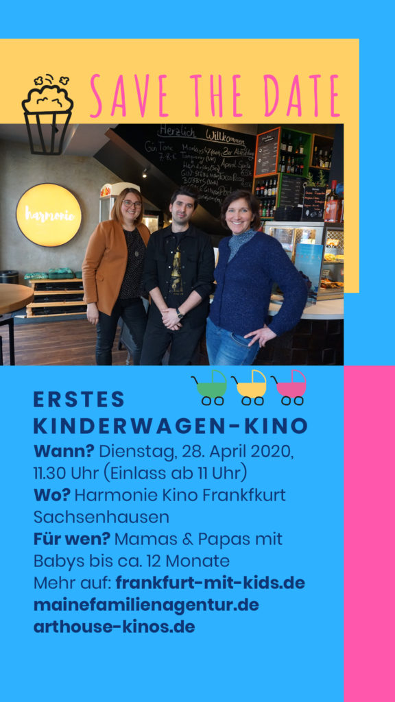 Save the Date Flyer Kinderagen-Kino