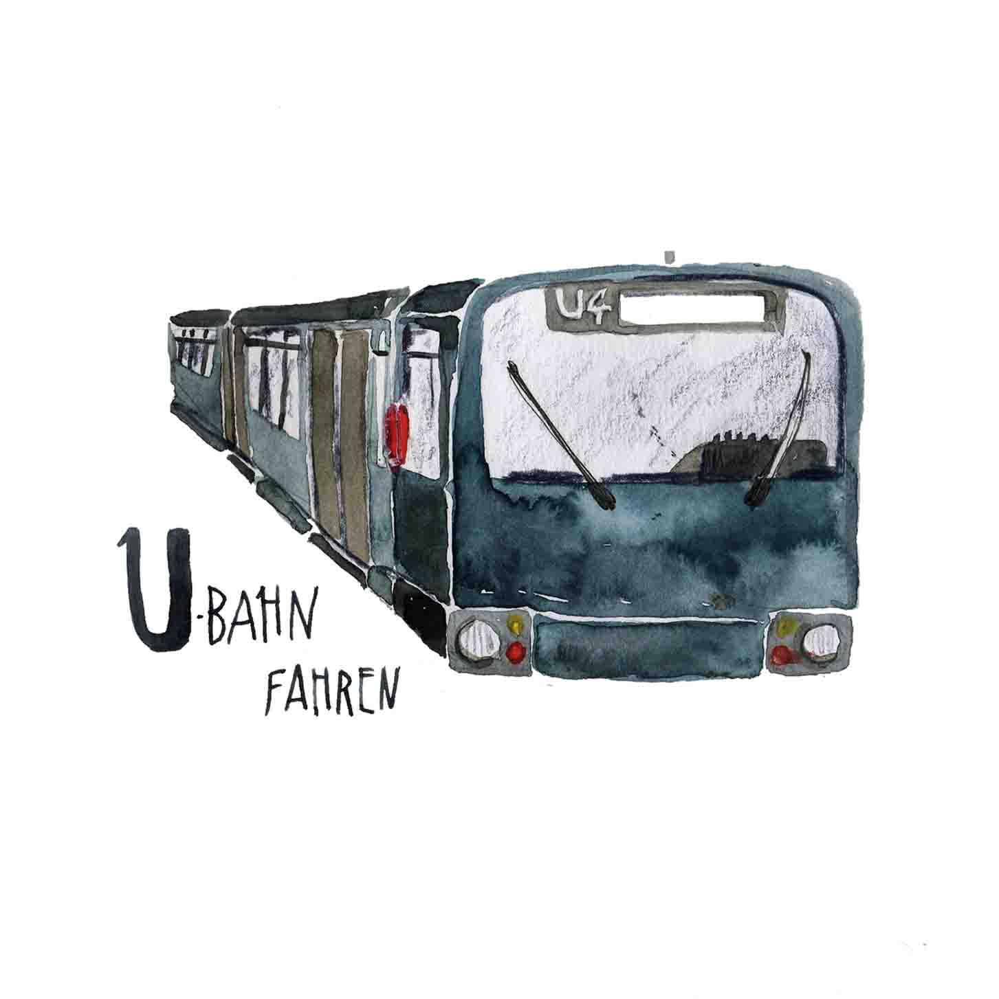 U U-Bahn fahren