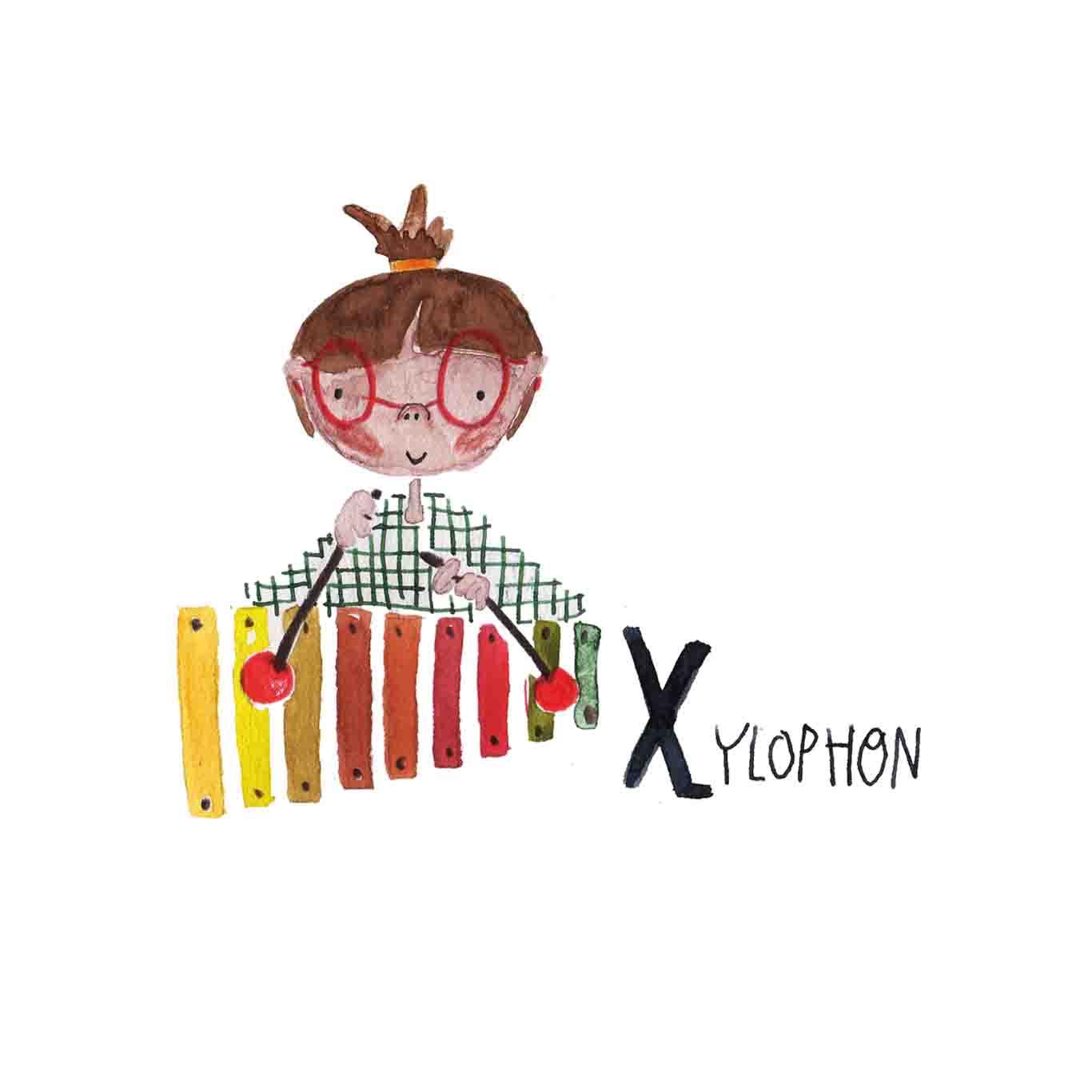 X Xylophon