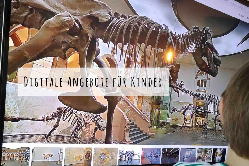 Digitale Angebote Kinder