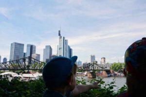 Kinder Skyline Frankfurt