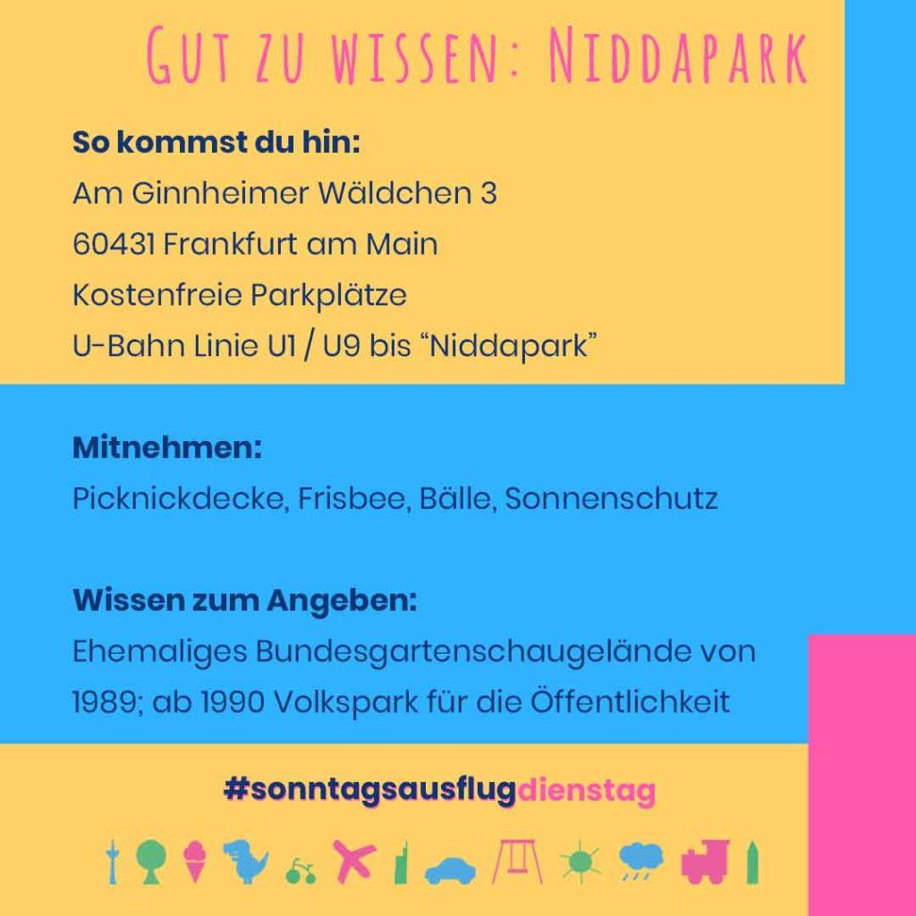 Niddapark Informationen