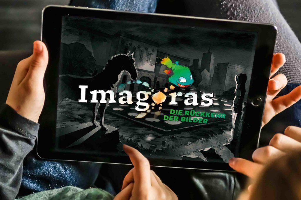 Imagoras – Die Rückkehr der Bilder Tablet App