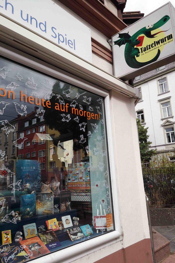 Tatzelwurm Frankfurt Buchladen