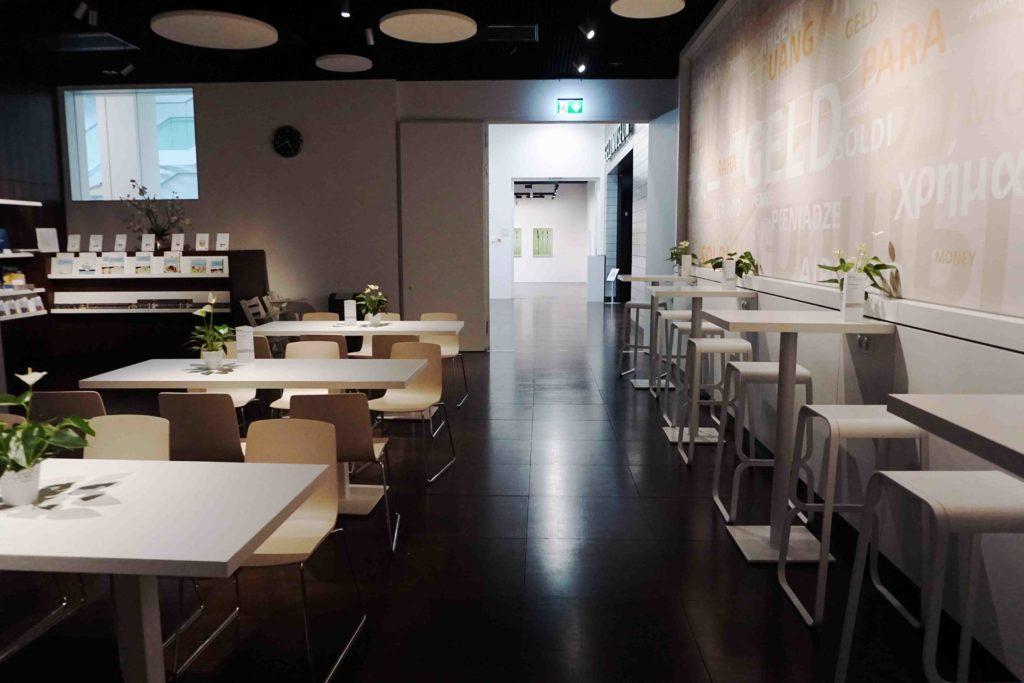 Cafeteria Geldmuseum Frankfurt