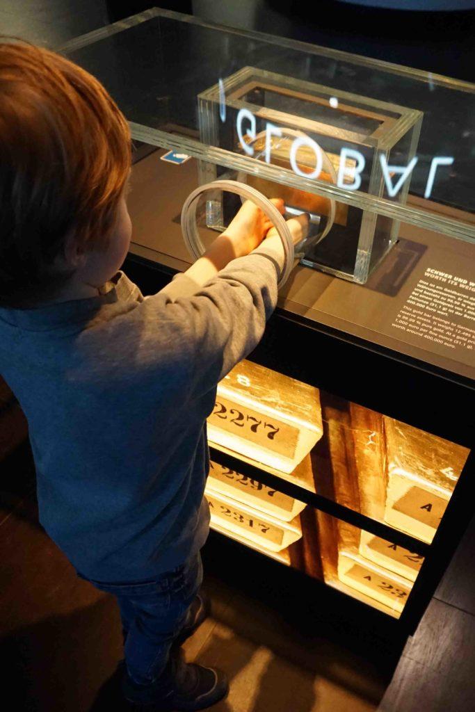 Goldbarren Geldmuseum Frankfurt