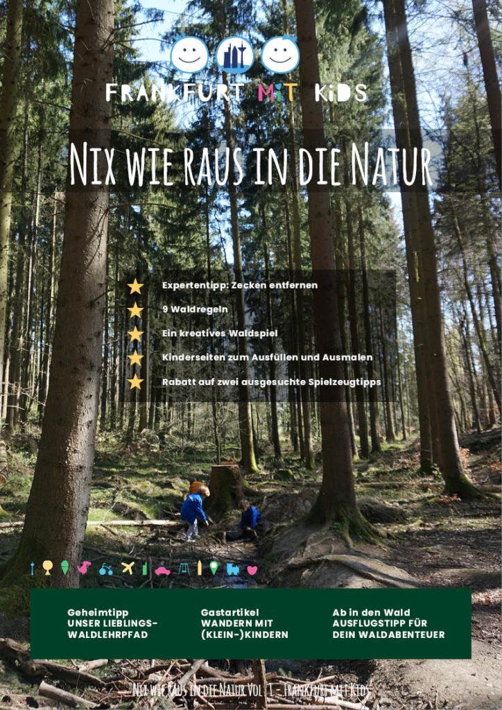 """Digitales Magazin """"Nix wie raus in die Natur"""""""