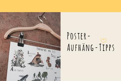 Poster-Aufhäng-Tipps