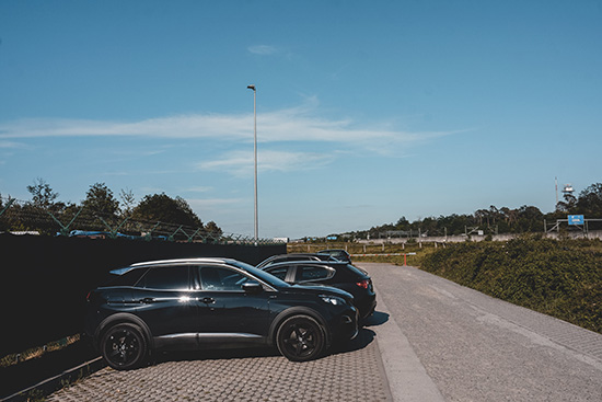 Parkplatz An der Düne