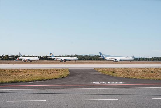 Frankfurt Flughafen Flugzeuge Lufthansa