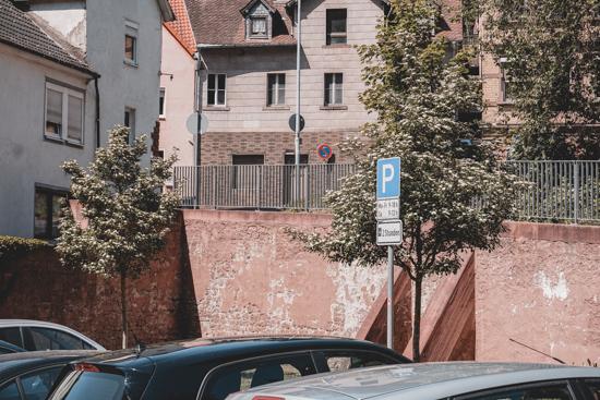Parkplatz Schlucht