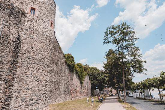 Burgmauer Höchst