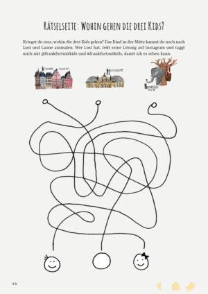 Digitales Ferienmagazin Kinderseite