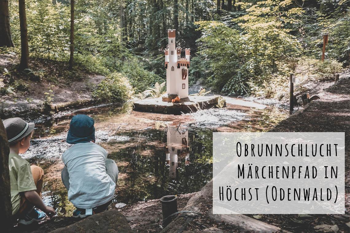 Obrunnschlucht Märchenpfad Höchst Odenwald