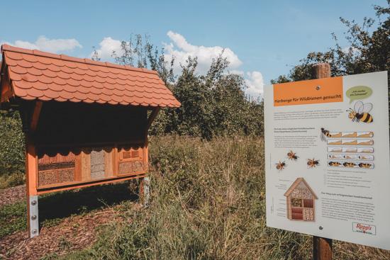 Bienen-Nistwand