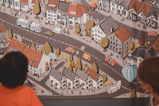 Wimmelbild Bad Hersfeld wortreich