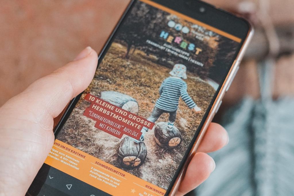 Digitales Herbst Magazin