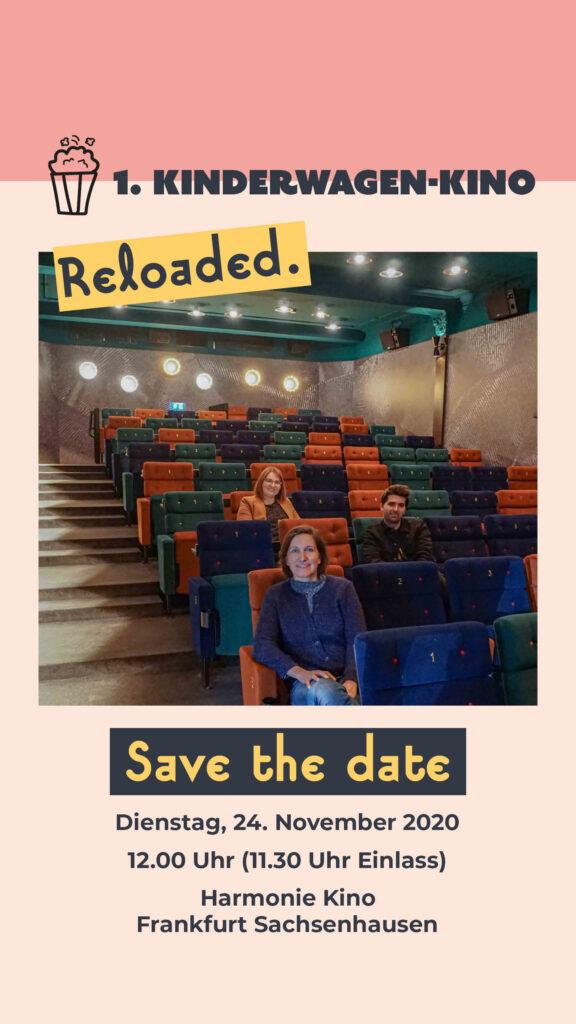 Save the date: Das erste Kinderwagen-Kino Frankfurt