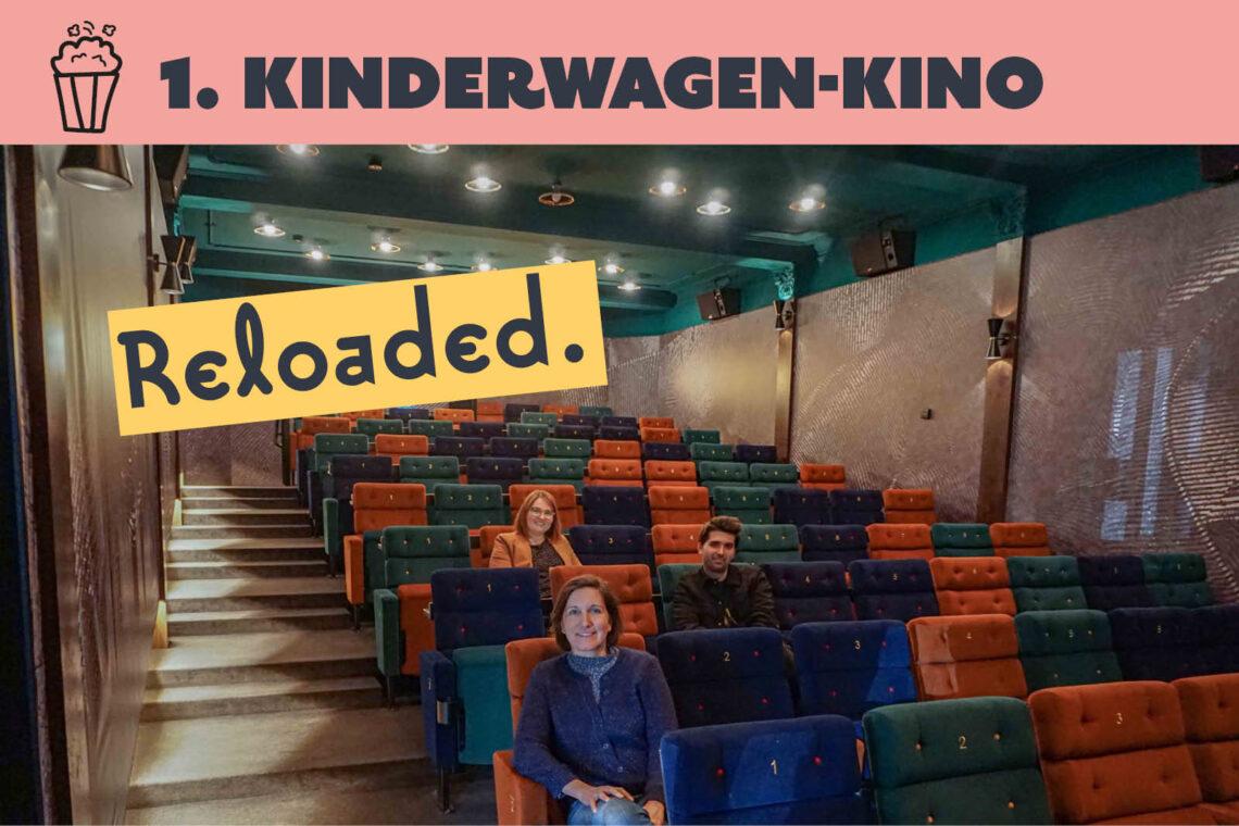 Das erste Kinderwagen-Kino Frankfurt