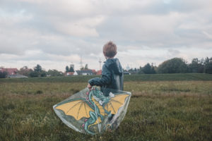Drachen steigen Kinder Oberursel