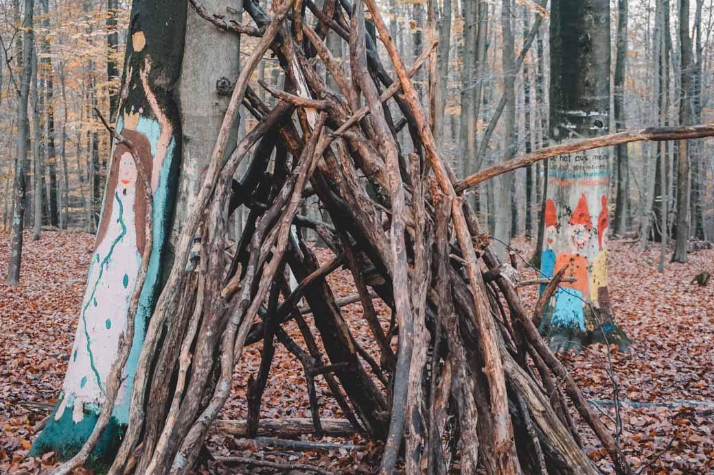 Kelkheim Zauberwald mit Kindern