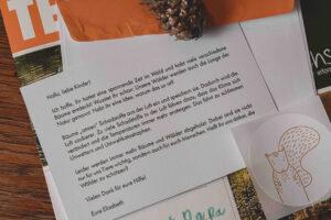 Brief vom Eichhörnchen