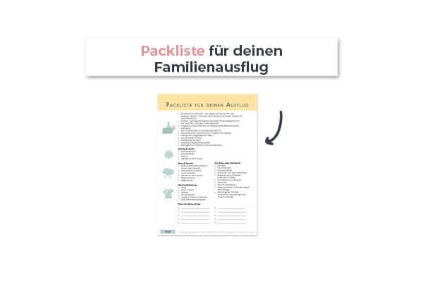Packliste für deinen Familienausflug
