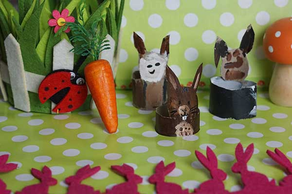 Hasenparade zu Ostern