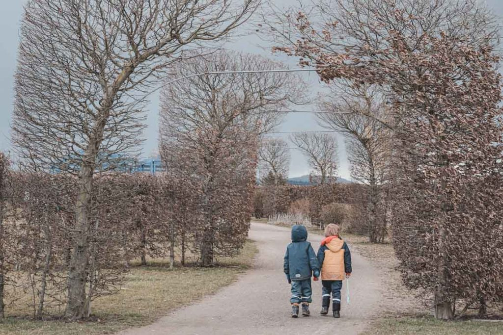 Ziegeleipark Kriftel mit Kindern