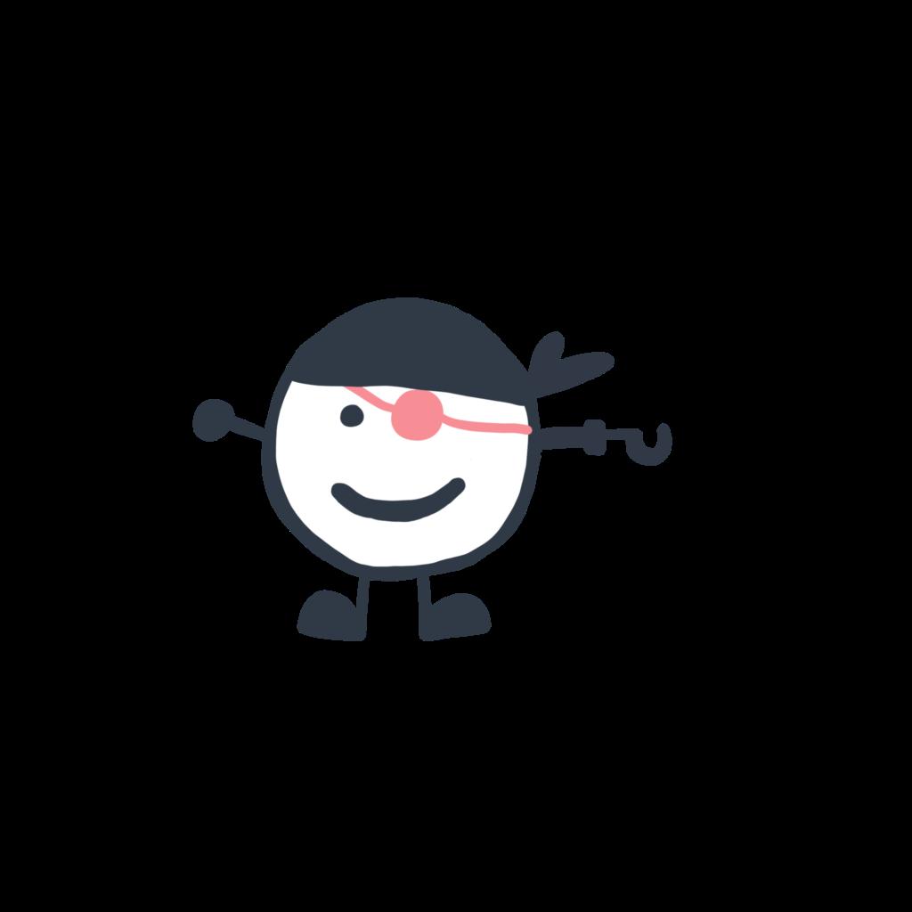Kleiner Entdecker Pirat
