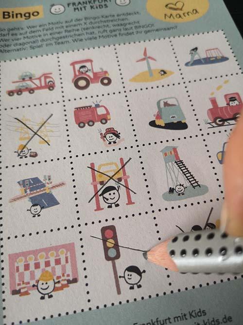 Bingo Block Frankfurt mit Kids