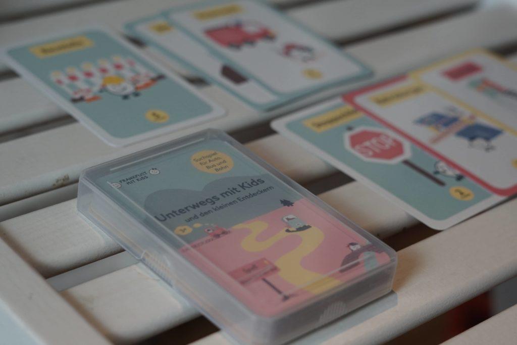 Kartenspiel Unterwegs mit Kids